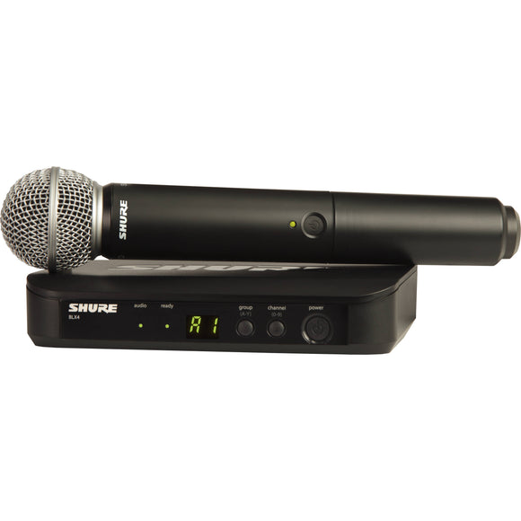 Shure BLX24 Vocal Wireless System w/ SM58 Mic