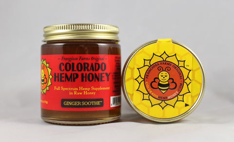Colorado Hemp Honey - Ginger Soothe