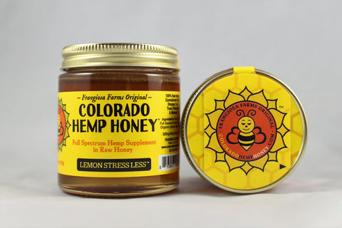 Colorado Hemp Honey - Lemon Stress Less
