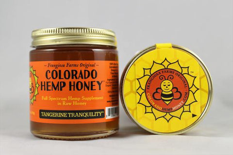 Colorado Hemp Honey - Tangerine Tranquility