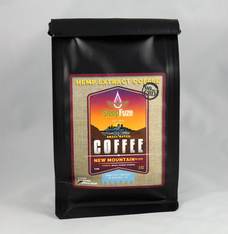SteepFuze Coffee- Mountain Blend 90mg, 3oz