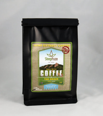 SteepFuze Coffee- Origin 90mg, 3oz