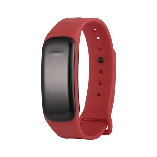 0.49 OLED Screen C1 Smart Bracelet Blood Pressure Waterproof Fitness Tracker Heart Rate Monitor Smart Band