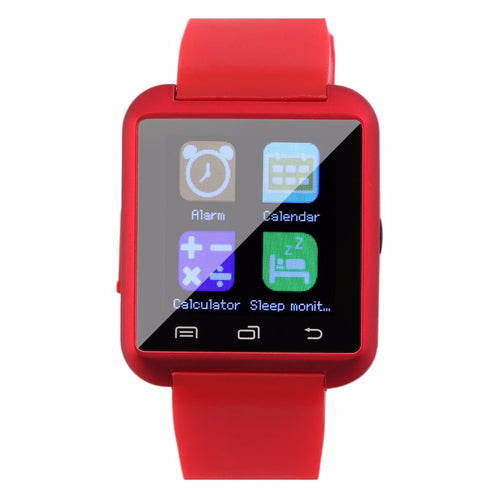 "2018 New 1.5"" Screen TFT LCD Sport U8 Bluetooth Multi-color Smart Wrist Watch Phone Mate For iPhone Android phones Wear"