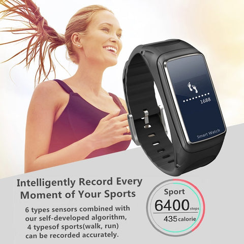 Couples B7 Smart Bracelet Bluetooth Sports smart watch Intelligent Detachable Music Heart Rate Monitor Pedometer Wrist Watch