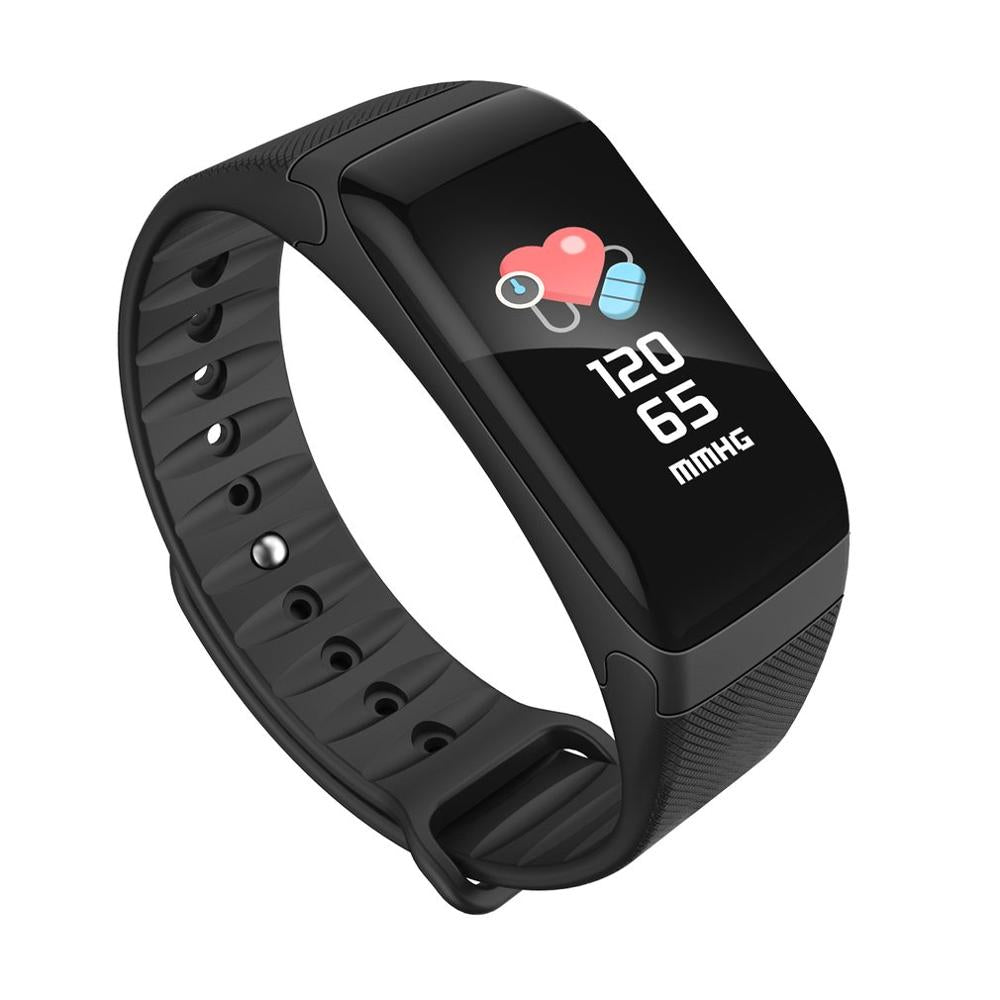 F601 Smart Band Heart Rate Blood Pressure Monitor Smart Bracelet Dynamic Calorie Wristband Bluetooth fitness tracker