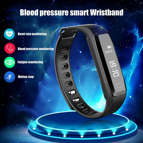G15 Heart Rate Monitor Fitness Bracelet Blood Pressure Smart Watch Step Counter Alarm Clock pk fitbits