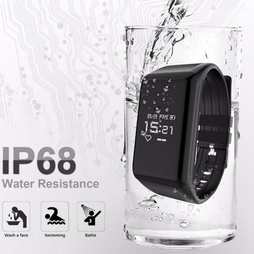 IP68 Sport Fitness Braccialetto Inseguitore Smart watch women watch men's watch Smart Wristband Heart Rate Monitor