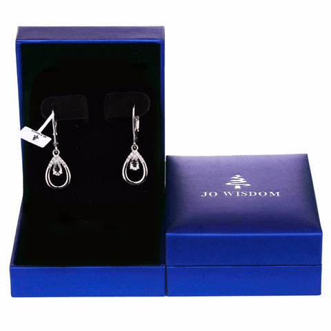 JO WISDOM Fine Jewelry Silver Earring Costume Jewelry Earrings Drop Earring Long Earring Wedding Decorations