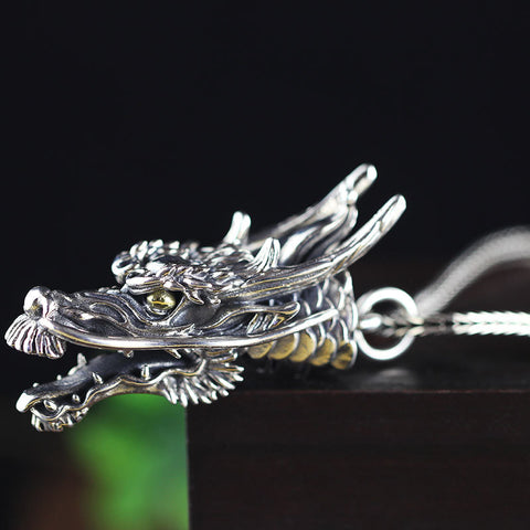 Fine jewelry silver jewelry wholesale S925 sterling silver jewelry pendant men's