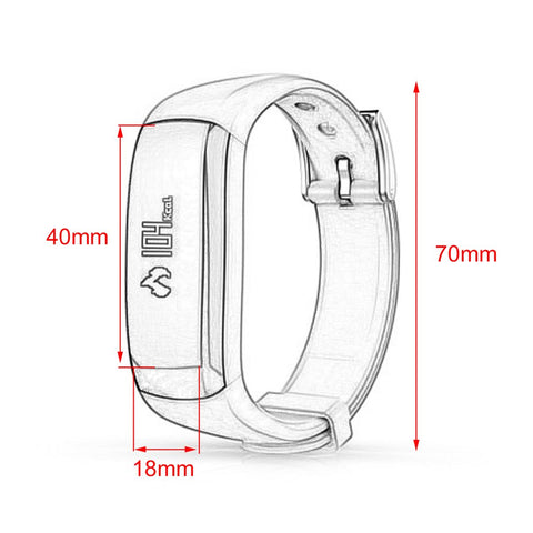 P6 Intelligent Bluetooth Smart Bracelet Digital Screen Wrist Watch Fashion Outdoor Sports Watches Health Monitor Call Reminder