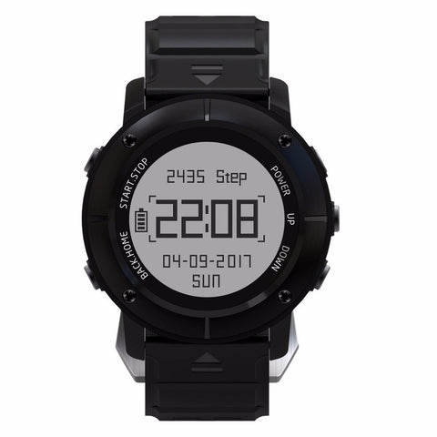 UW80 GPS Smart Watch SOS Thermometer Pressure Gauge Sport Heart Rate Monitor Bluetooth Pedometer Smartwatch