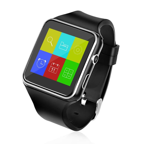 X6 Sports Bluetooth Smart Watch color Screen with Camera Support SIM Card Sleep Monitoring For iPhone Android