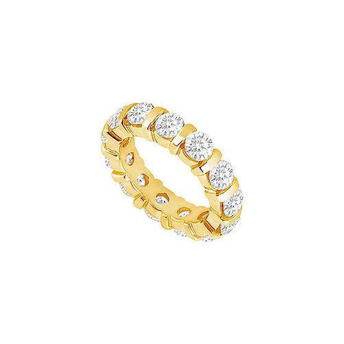 Diamond Eternity Band : 14K Yellow Gold - 1.00 CT Diamonds-JewelryKorner-com
