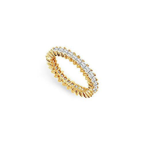 Diamond Eternity Band : 14K Yellow Gold - 2.50 CT Diamonds-JewelryKorner-com