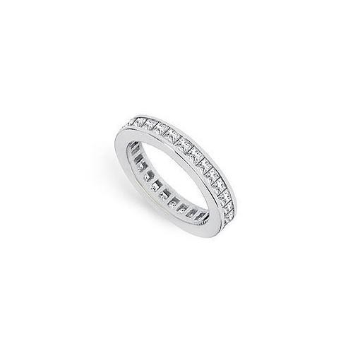 Diamond Eternity Band : 18K White Gold – 1.50 CT Diamonds-JewelryKorner-com