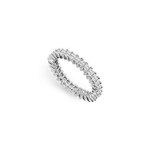 Diamond Eternity Band : 18K White Gold – 2.00 CT Diamonds-JewelryKorner-com
