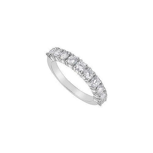 Diamond Ring : 14K White Gold - 1.00 CT Diamonds-JewelryKorner-com