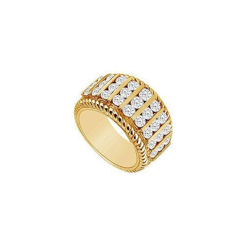 Diamond Ring : 14K Yellow Gold - 1.00 CT Diamonds-JewelryKorner-com