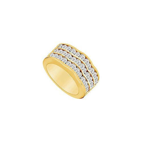 Diamond Ring : 14K Yellow Gold - 2.00 CT Diamonds-JewelryKorner-com
