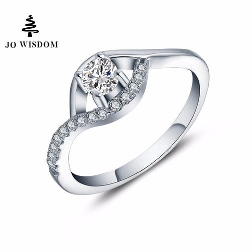JO WISDOM New Arrival Rings Engagement Wedding Rings Mother Day Gift Ring Quality Picks Jewelry Women's rings-JewelryKorner