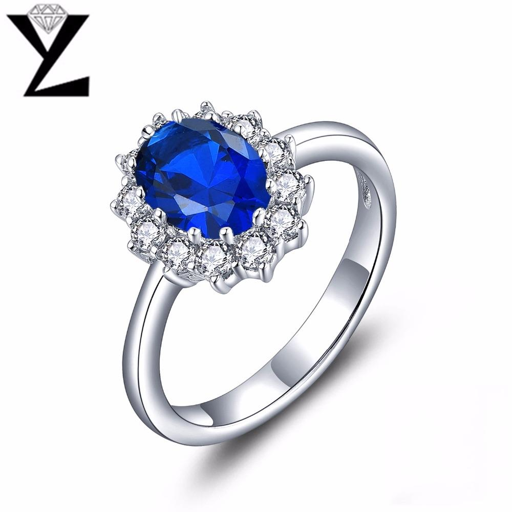 YL Classic 925 Sterling Silver Engagement Rings for Women Wedding Fine Jewelry Wholesale Sterling-Silver-Jewelry-JewelryKorner