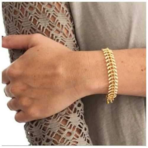 Julius 18 kt Gold Filled Necklace And Bracelet Set-JewelryKorner-com