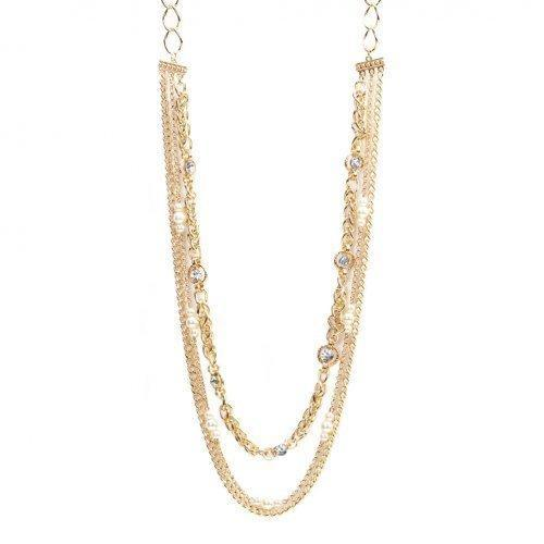 Richly Layered Fashion Necklace (pack of 1 EA)-JewelryKorner-com
