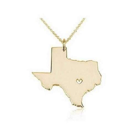 Souvenirs Of The State Necklaces From Journey Collection-JewelryKorner-com
