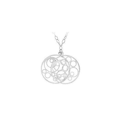 Sterling Silver Reversible Fashion Pendant-JewelryKorner-com
