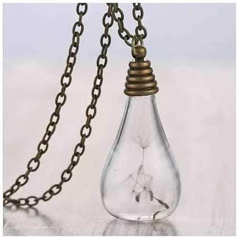 Wish In The Bottle Wish Maker Necklace-JewelryKorner-com