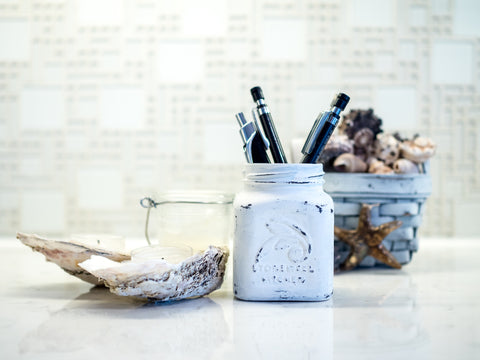 Painted Small Jar