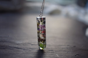 Irish Wildflower Necklace by Golden Forest Boutique