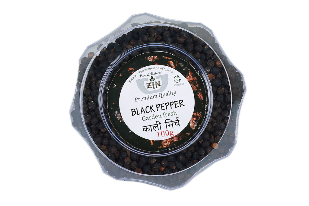 Zin Black Pepper - Garden Fresh (100g) - Genspice