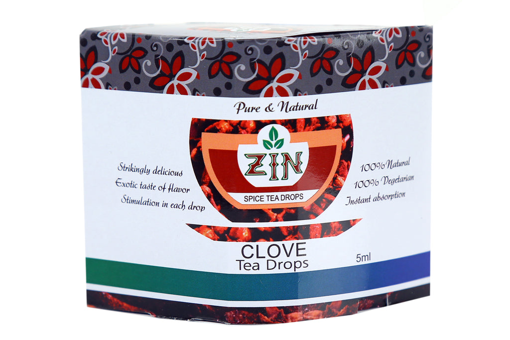 Zin Clove Tea Drops (5ml) - Genspice