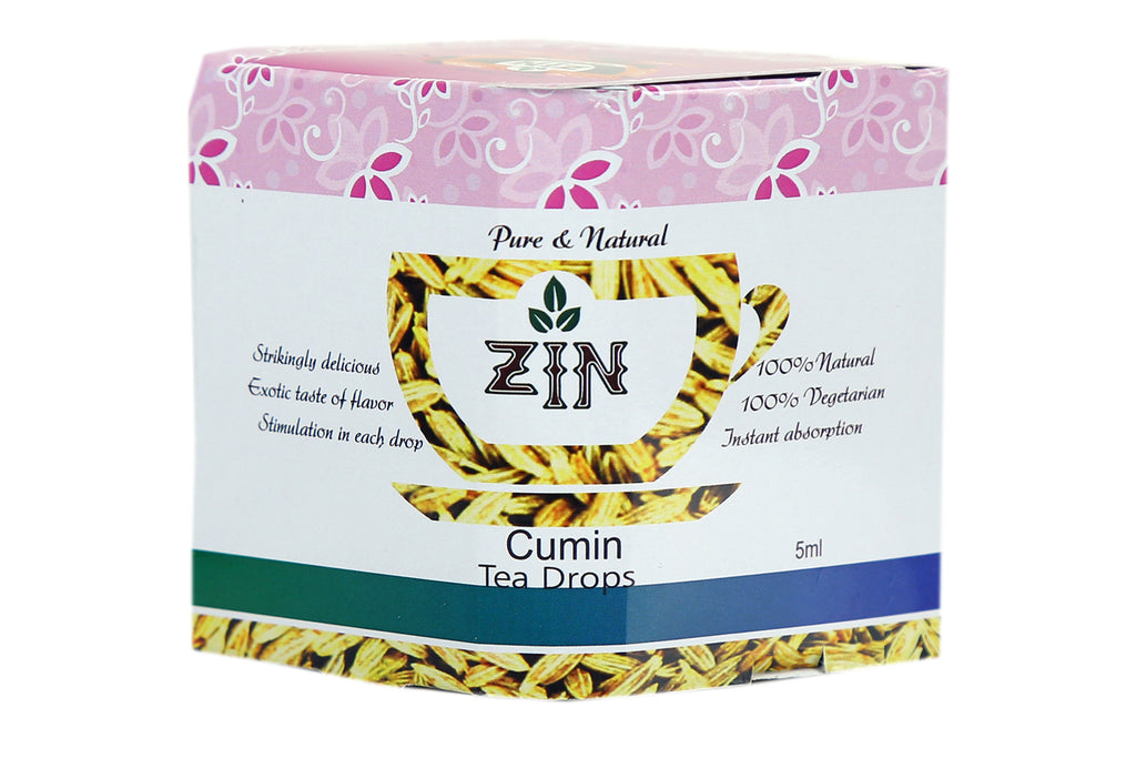 Zin Cumin Tea Drops (5ml) - Genspice