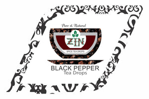 Zin Black Pepper Tea Drops (5ml) - Genspice