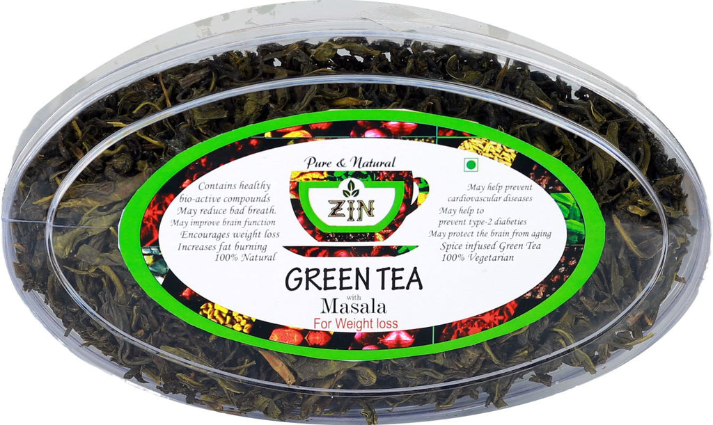 Masala Green Tea (100g) - Genspice