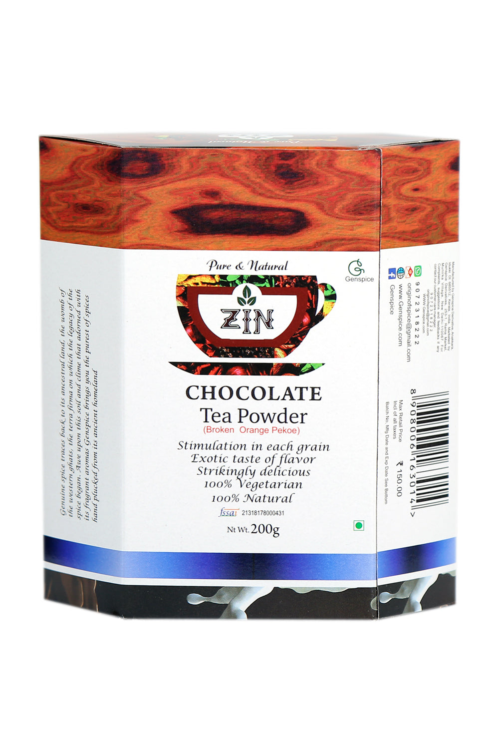 Chocolate Tea Powder - Genspice