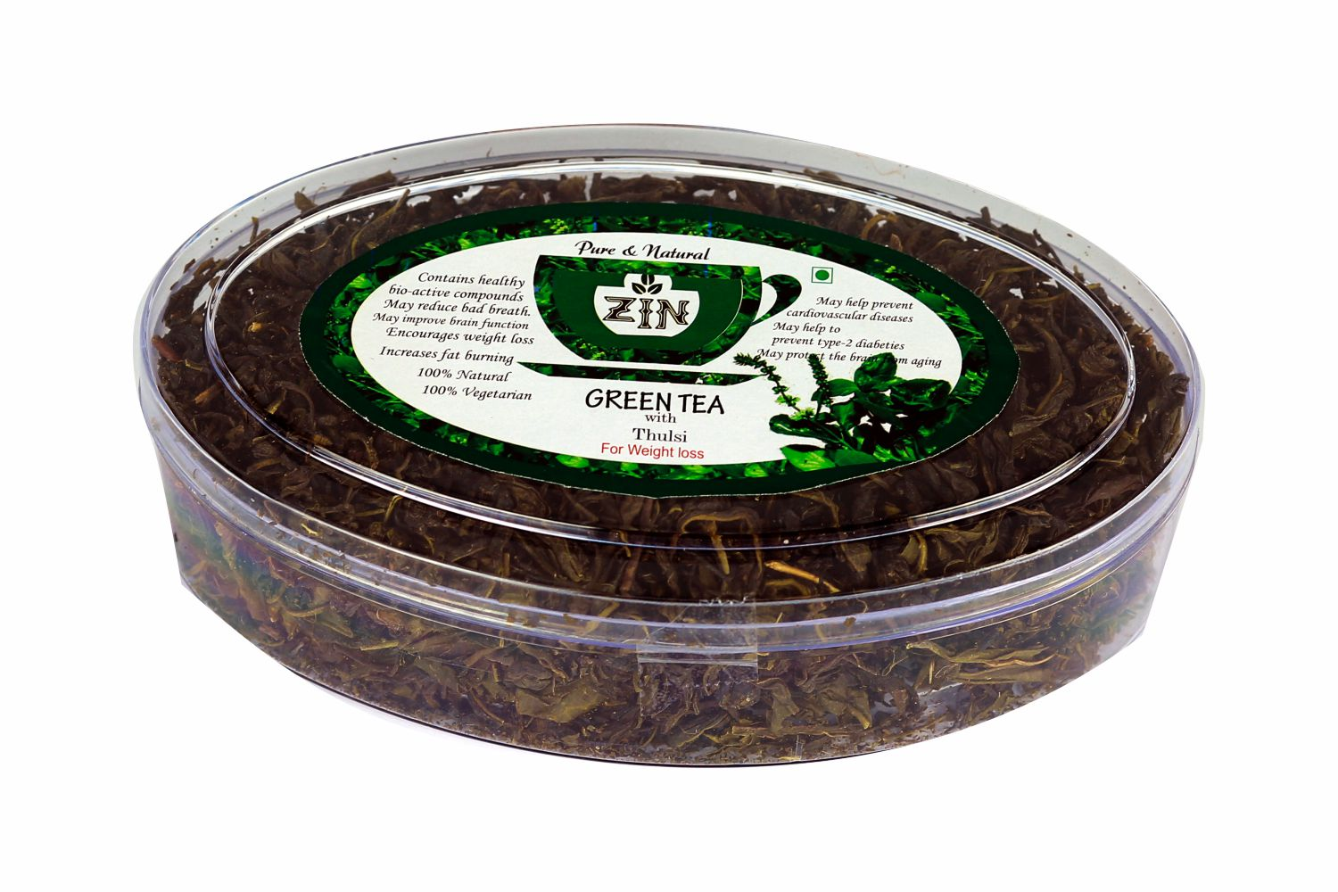 Ginger Green Tea (100g) - Genspice