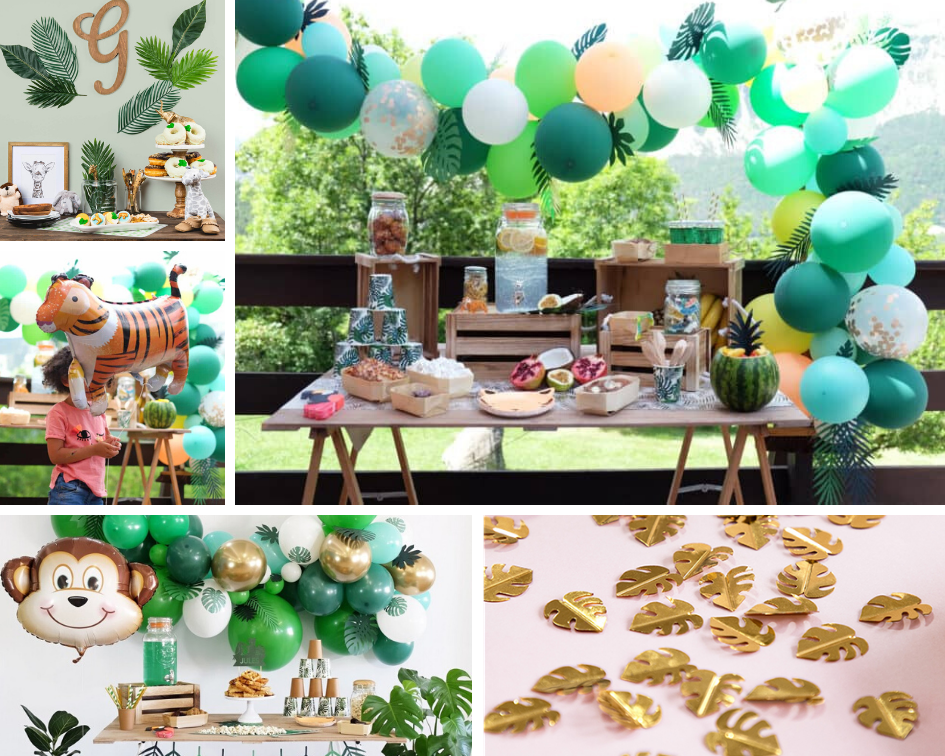baby shower jungle
