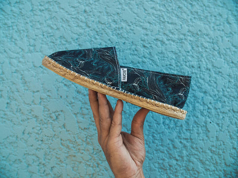 espadrille recyclee francaise