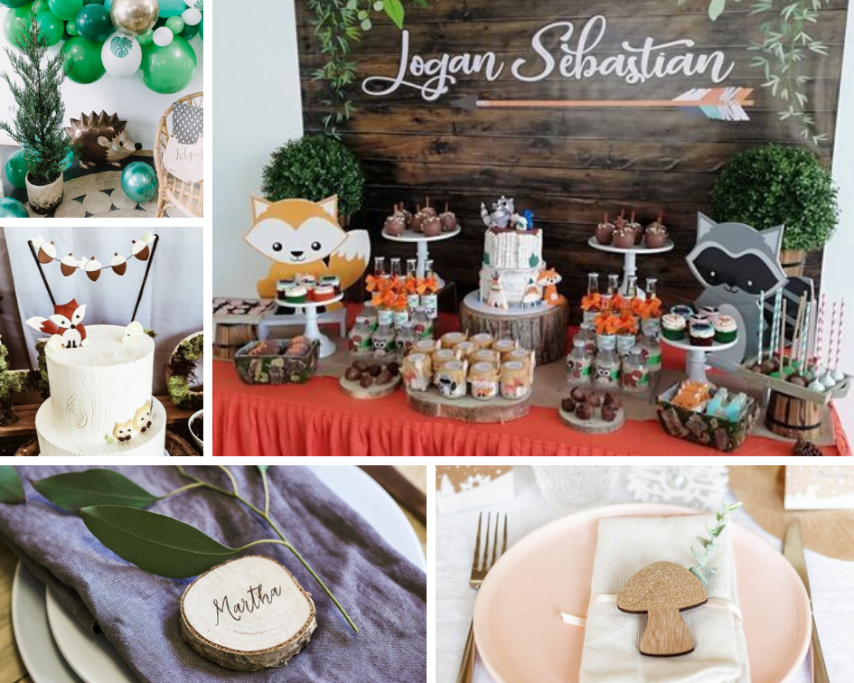 idee deco baby shower