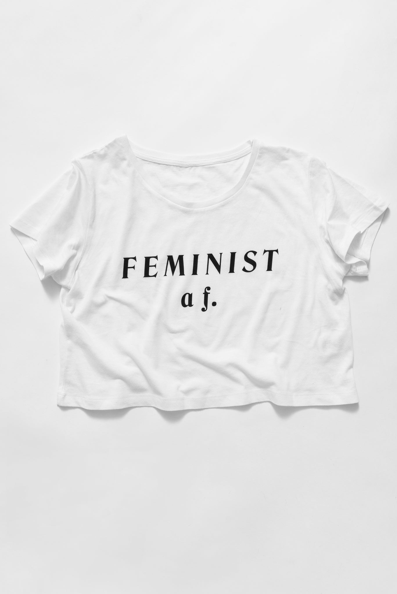 FEMINIST a f. (Crop & Regular fit)