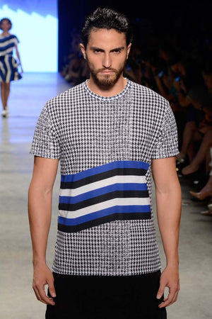 Contemporary Houndstooth T-shirt