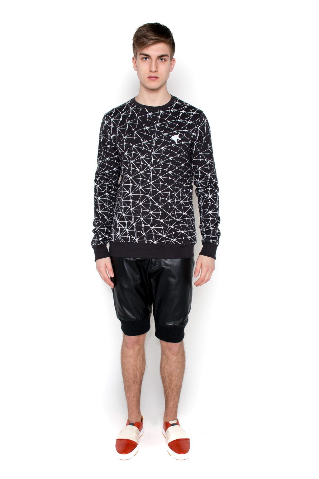 Biosphere Sweatshirt (black-white)