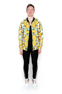 Jelly Fish Oversize Bomber Jacket