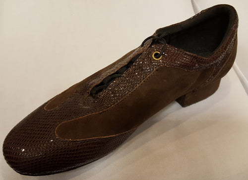 Marquis Brown Snakeskin/Brown Suede LIMITED SPECIAL OFFER!!!