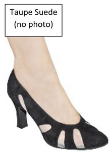"Queen Mesh and Suede Peekaboo 2-1/2"" Heel LIMITED SPECIAL OFFER!"