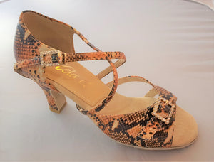 "Ziba 2-1/2"" Heel Python Leather SPECIAL LIMITED OFFER!!!"